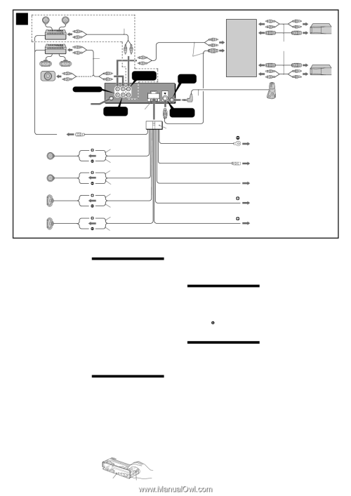 small resolution of sony cdx f5500 installation connection instructions page 1 sony cdx 430 wiring diagram sony cdx f5500 wiring diagram