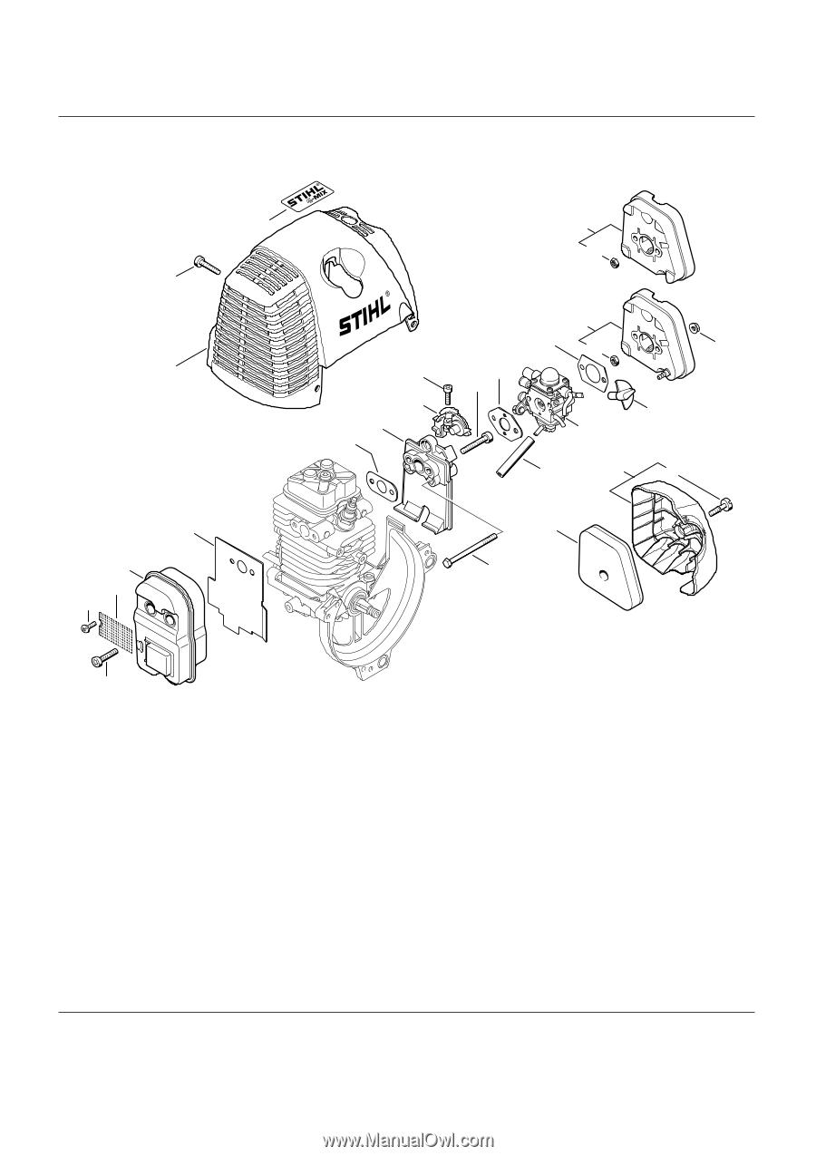 Schalldämpfer, Luftfilter, Muffler, Air filter, Silencieux