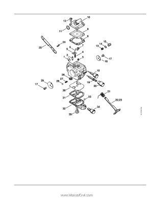 Stihl MS 192 T CE | Parts Diagram  Page 25