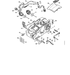 stihl engine diagram [ 900 x 1165 Pixel ]