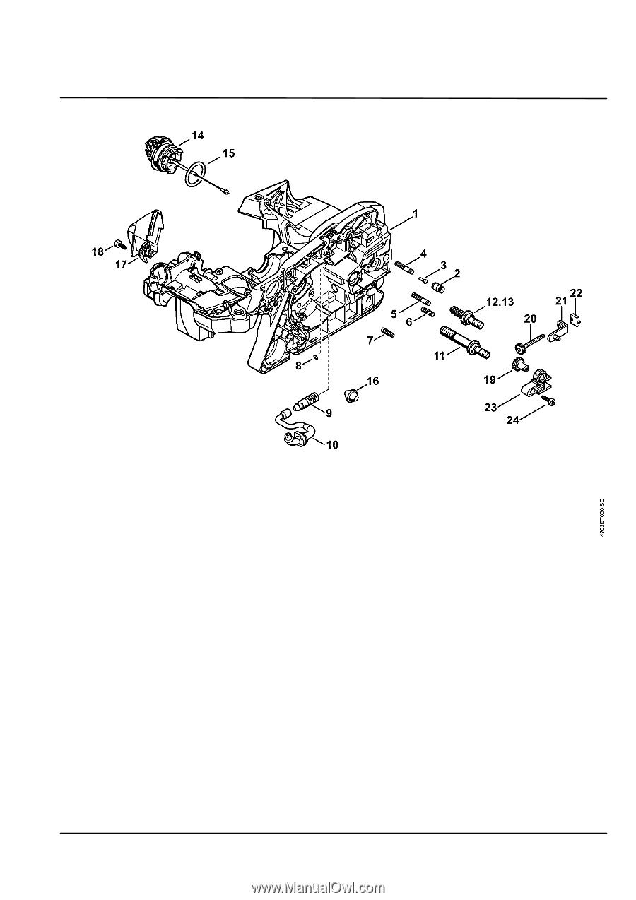 medium resolution of stihl ms 311 parts diagram stihl 4 mix engine diagram stihl engine diagram