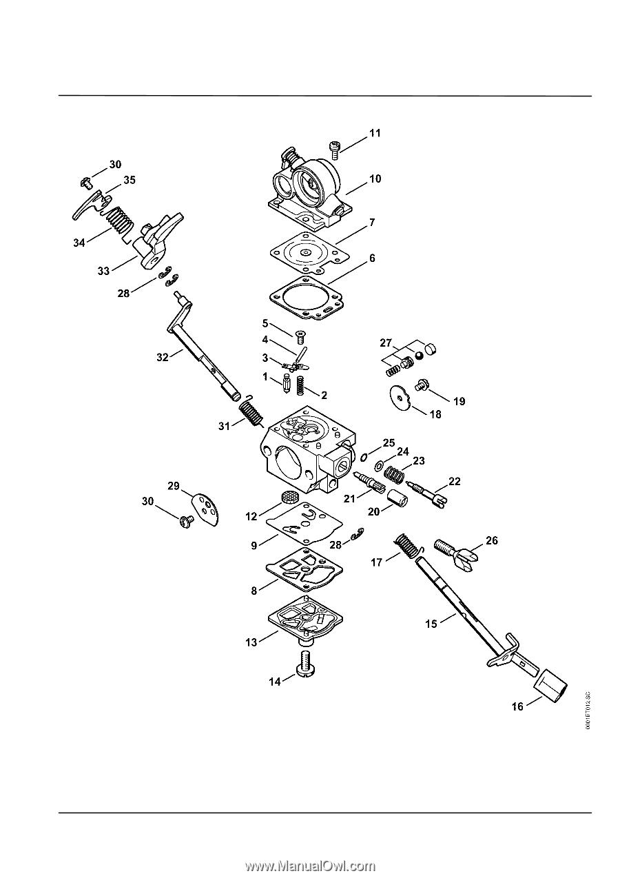 Stihl Ms 311 Parts Diagram
