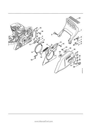 Stihl MS 391 | Parts Diagram  Page 7