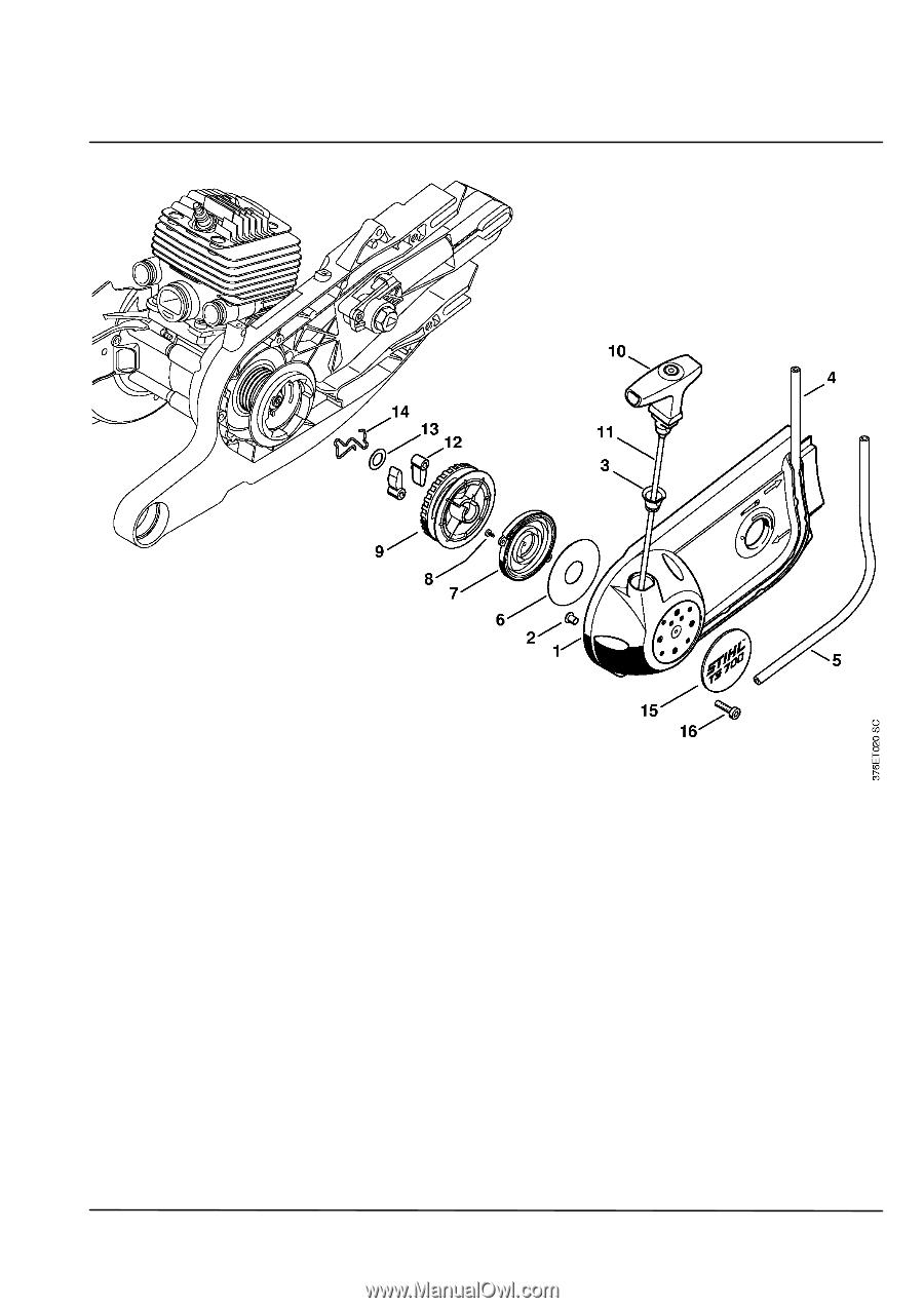 Stihl Ts 700 Stihl Cutquik Parts Diagram