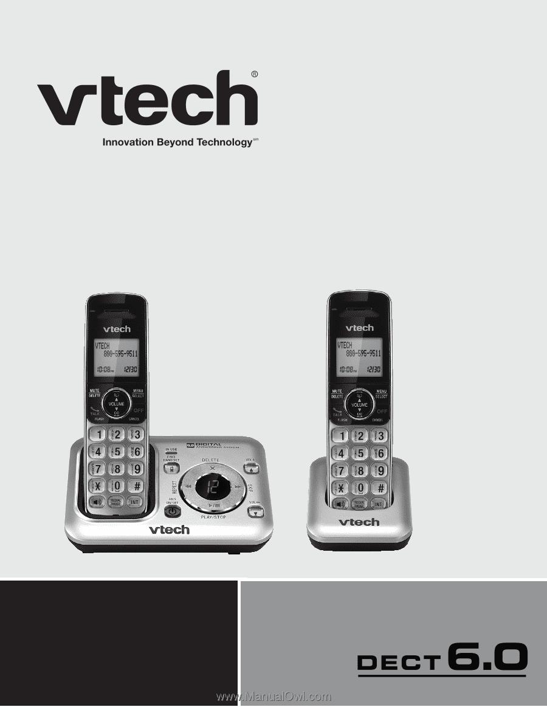 Vtech 2 Handset DECT 6.0 Expandable Cordless Telephone