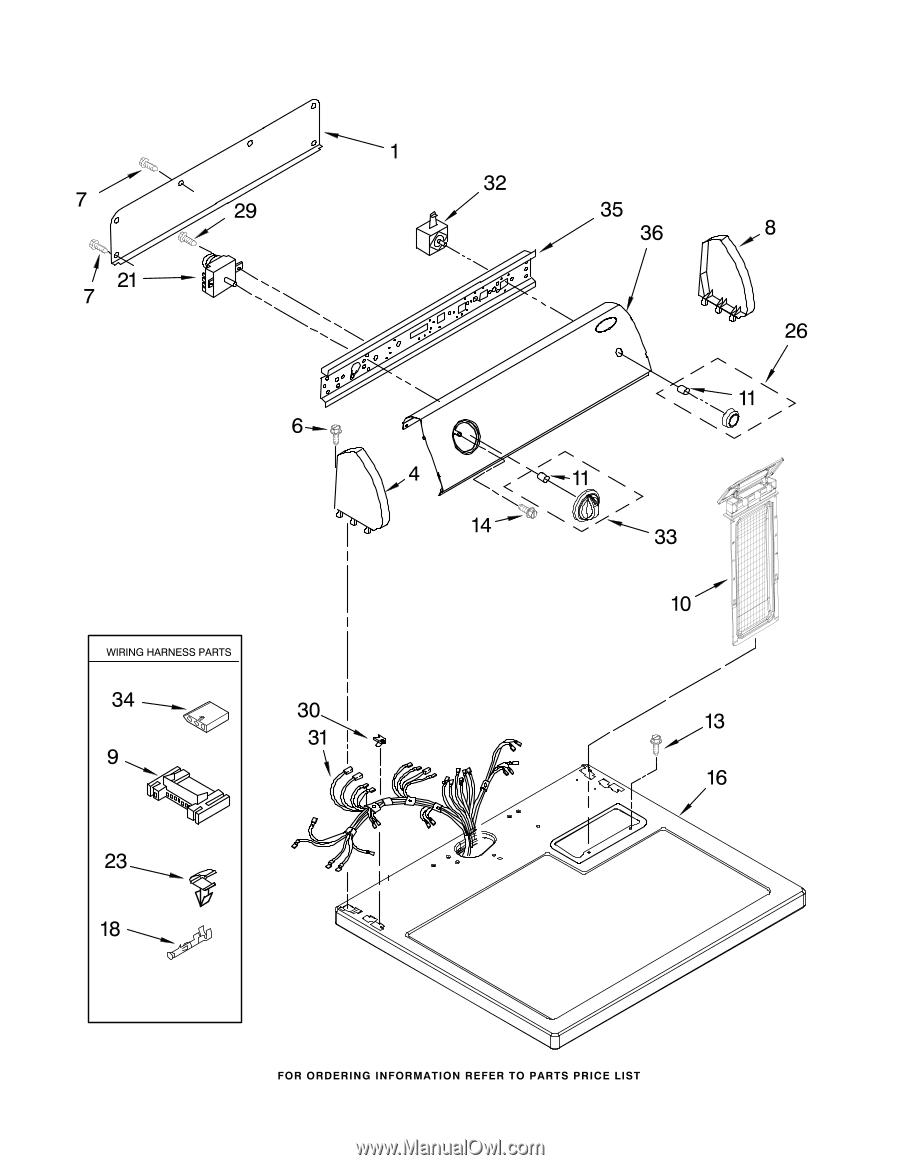 Whirlpool Dryer Wed5300sq0wiring Diagram