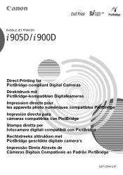 Canon i900D Manual