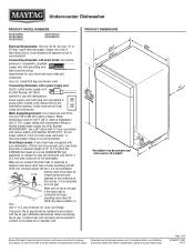 Maytag MDB4949SDM Manual