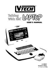 Vtech Talking Whiz Kid Laptop Manual