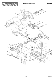 Makita 2414NB Manual