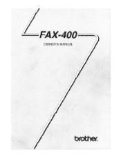 Brother International FAX-400 Manual