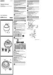 Sony SNCWR602 Manual