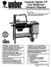 Weber Genesis Jr LP Manual