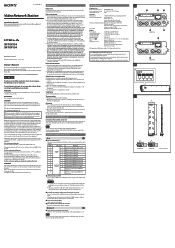 Sony SNT-EX154 Manual
