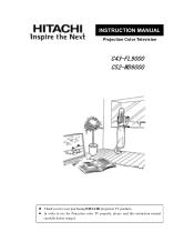 Hitachi C43-FL9000 Manual