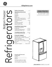GE GNE26GSDSS Manual