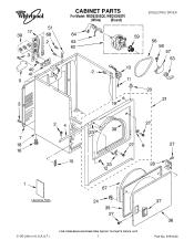 Whirlpool WED5300ST Manual