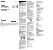 Sony MDR-1ABT Manual