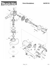 Makita VC4710X1 Manual