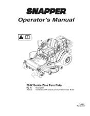 Snapper 200Z Manual