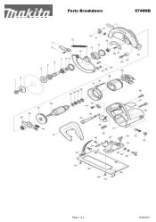 Makita 5740NB Manual