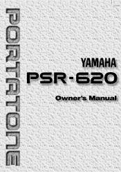 Yamaha PSR-620 Manual