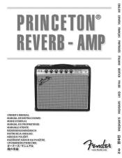 Fender 68 Custom Princeton Reverb Manual