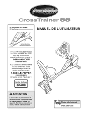 ProForm Free Spirit Crosstrainer 55 Manual