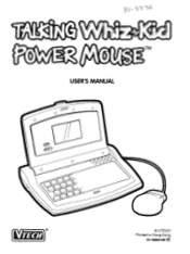 Vtech Talking Whiz Kid Power Mouse Manual