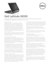 Dell Latitude E6330 Manual
