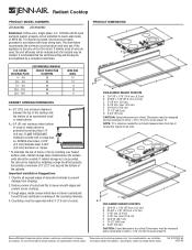 Jenn-Air JEC8536BDB Manual