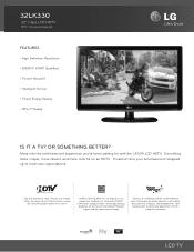 LG 32LK330 Manual
