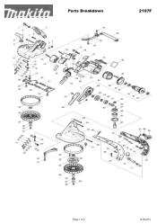 Makita 2107F Manual