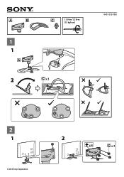 Sony KDL-55W900A Manual