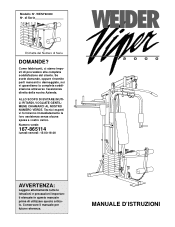Weider Viper 2000 Manual