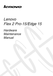 Lenovo Edge 15 Laptop Manual
