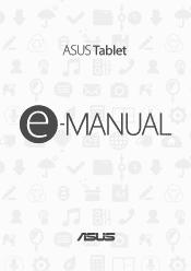 Asus ZenPad 3S 10 Z500M Manual
