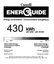 GE PCKS443EBWW Manual