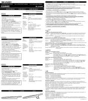 Sharp EL-2139H Manual