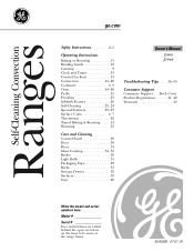 GE JS968SFSS Manual