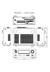 Denon AVR-1908 Manual
