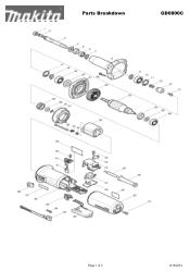 Makita GD0800C Manual