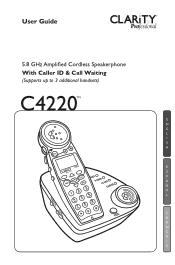 Plantronics C4220 Manual
