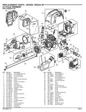 Troy-Bilt TB6044 XP Manual