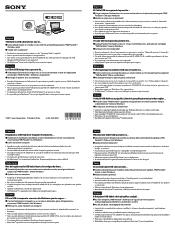 Sony DCR-SX85 Manual