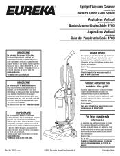 Eureka Power Plus 4703F Manual
