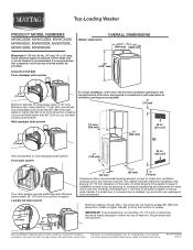 Maytag MVWC300XW Manual