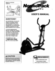 NordicTrack Ellipse 910e Elliptical Manual