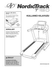 NordicTrack 19.0 Treadmill Manual