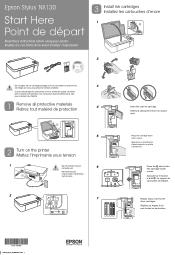 Epson Stylus NX130 Manual